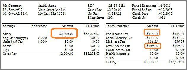 Make a check stub template - PayCheck Stub Online .com