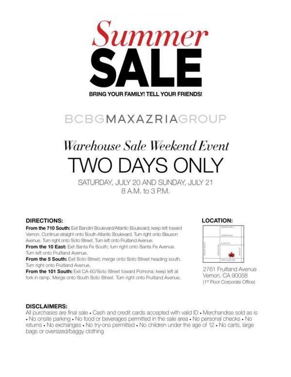 BCBG MAXAZRIA | WHSale