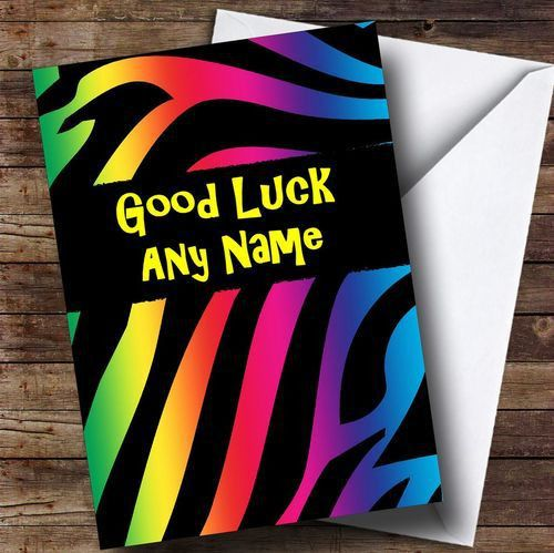Personalised Cards - Good Luck Cards - Page 1 - The Card Zoo