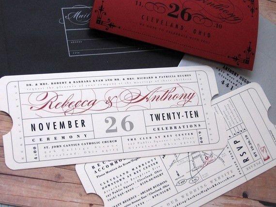 22 best Wedding invites images on Pinterest | Invitation ideas ...