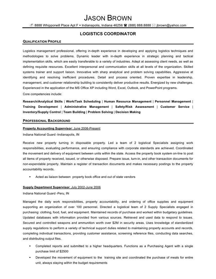 logistics resume sample resume sample 22 global logistics resume
