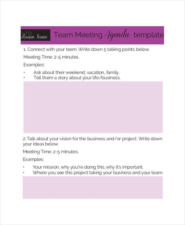 Business Meeting Agenda Template – 10+ Free Word, PDF Documents ...