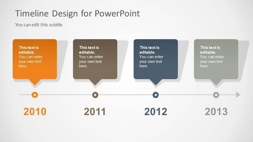 Timeline Template for PowerPoint - SlideModel
