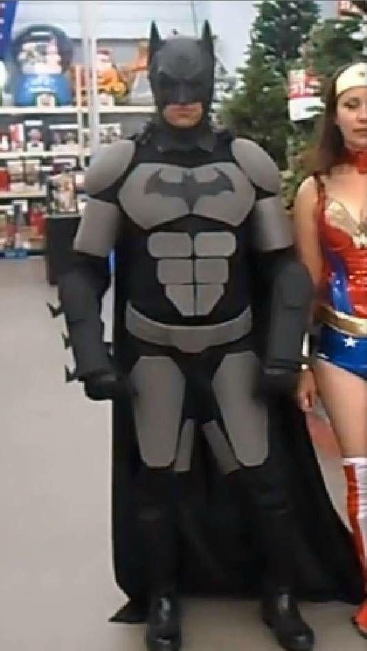 How to Make a Batman Costume (eva Foam Armor)