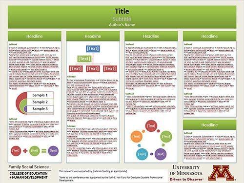 Poster Presentation Resources | FSoS | UMN