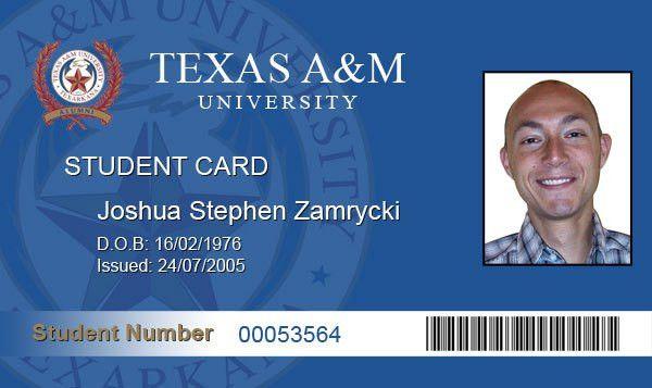 Fake ID | Joshua Zamrycki's Weblog