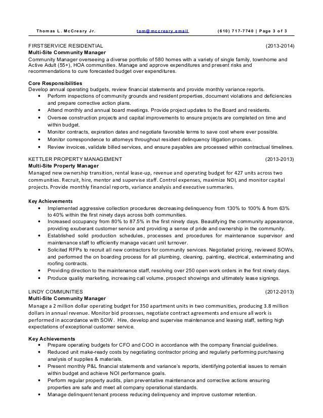 Apartment Assistant Manager Cover Letter