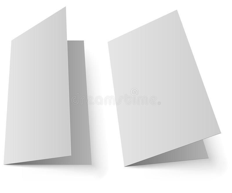 Blank Greeting Card Stock Vector - Image: 44034399