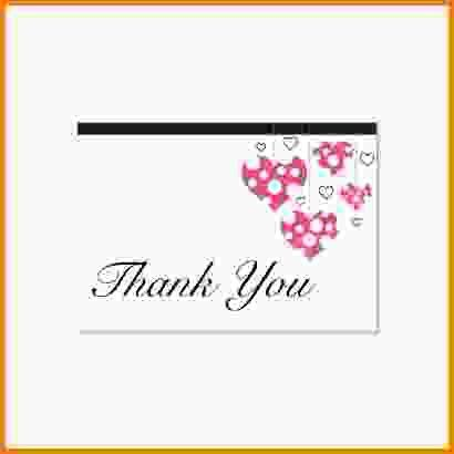 Free Thank You Card Template.wedding Thank You Cards 03e 800.jpg ...