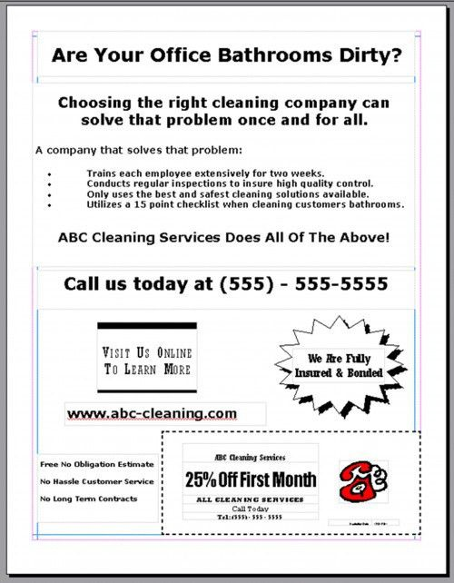 Tips For Advertising Your Cleaning Business