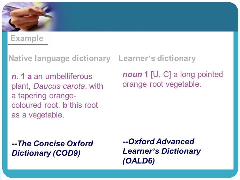 How to Use Dictionaries in English Language Learning - ppt video ...