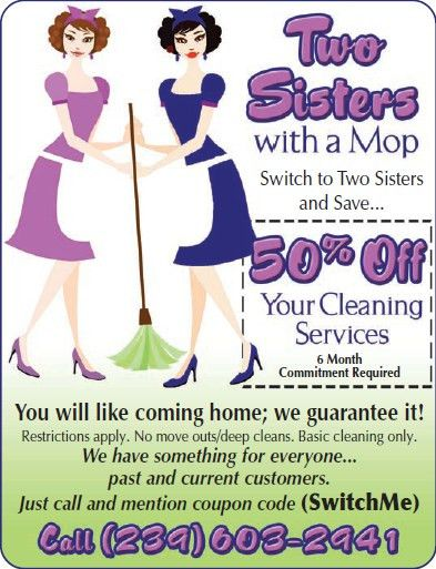 House Cleaning Discounts: Move Out, Move In Cleaning Service, Cape ...