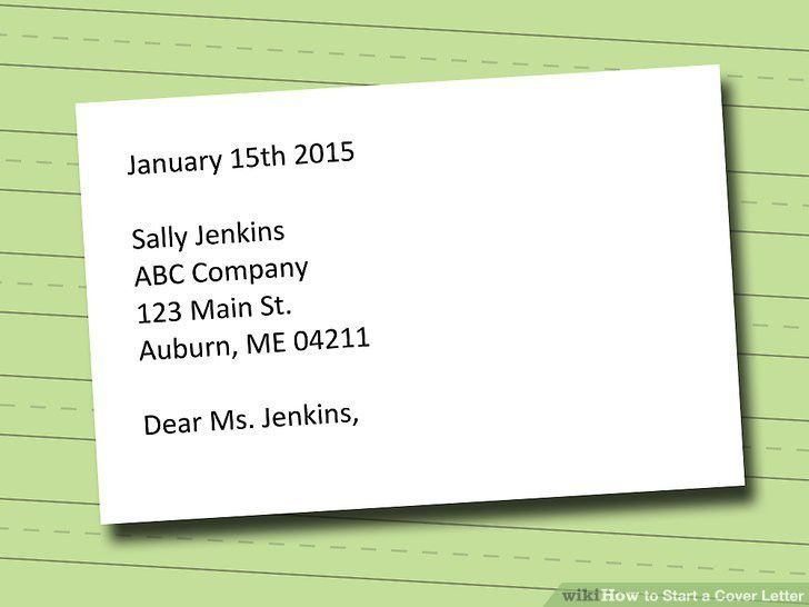 Lofty Design Ideas How To Start A Cover Letter 14 To Your - CV ...