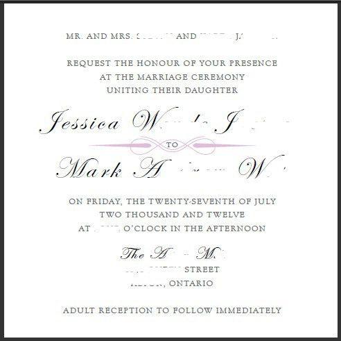 Cocktail Wedding Reception Invitation Wording - vertabox.Com