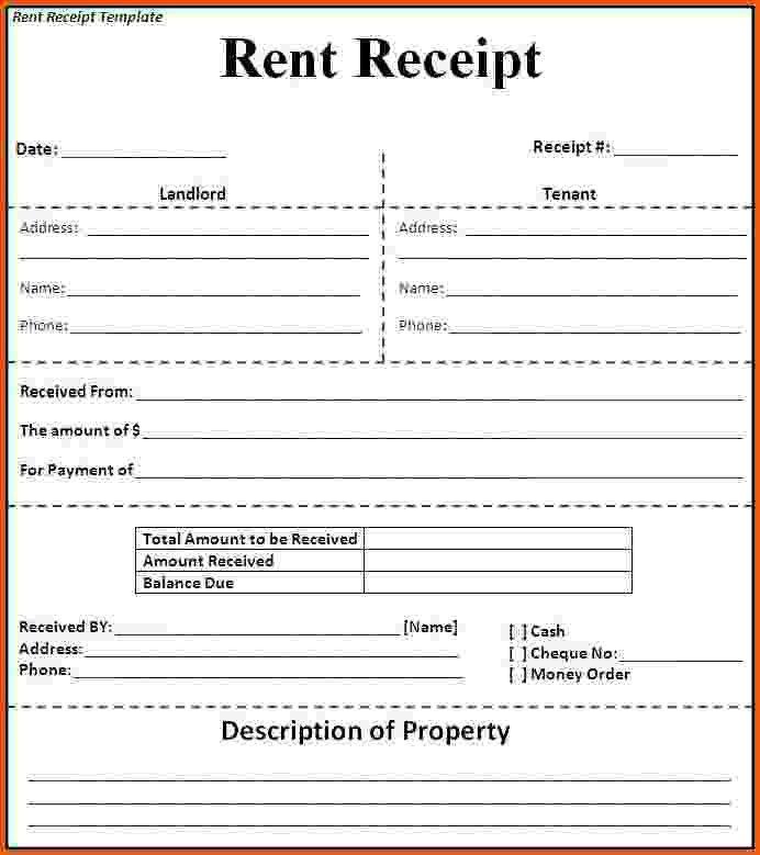11+ rent receipt word | Survey Template Words