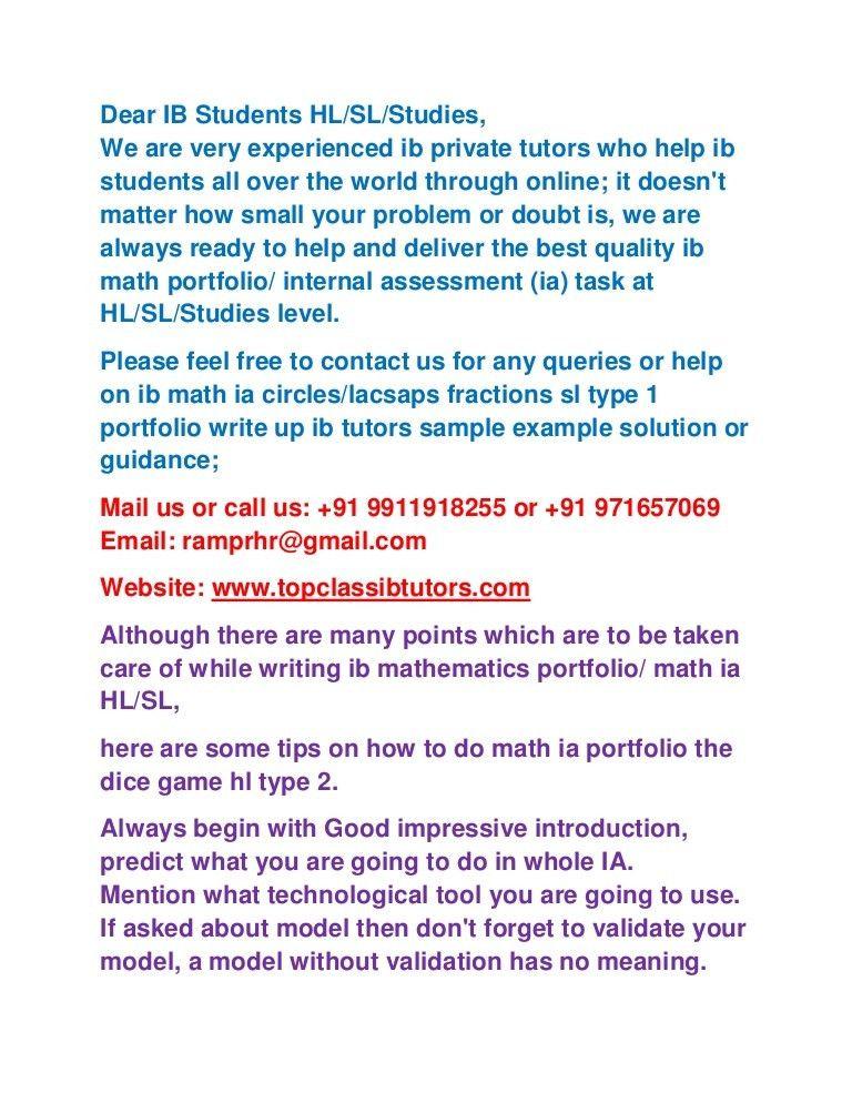 Ib dp sl type 2 ia math portfolio fish production, gold medal heights
