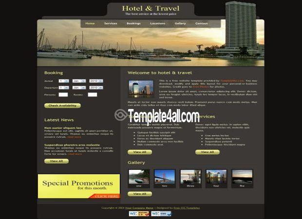 Free HTML Website Templates