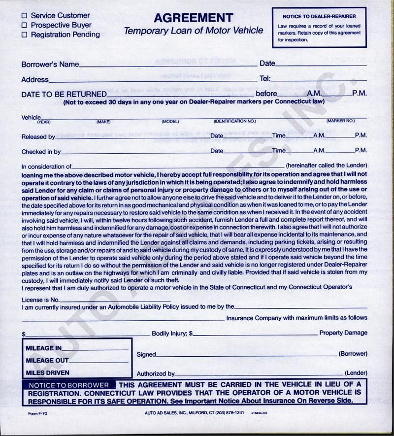 Printable Sample Loan Agreement Form Form | Laywers Template Forms ...
