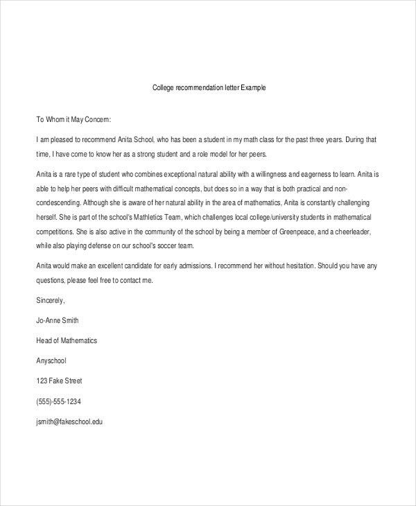 40+ Recommendation Letter Templates in PDF | Free & Premium Templates