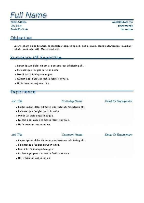 Resume Pages Template Free. creative resume template and cover ...