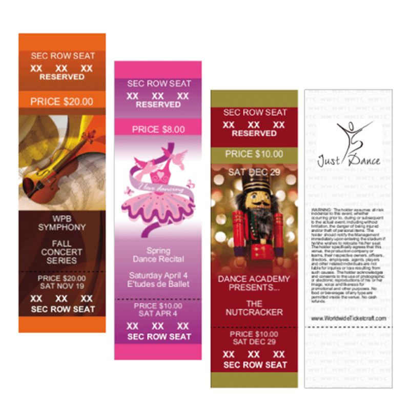 Custom Tickets for Events of All Sizes | Event Ideas from ...
