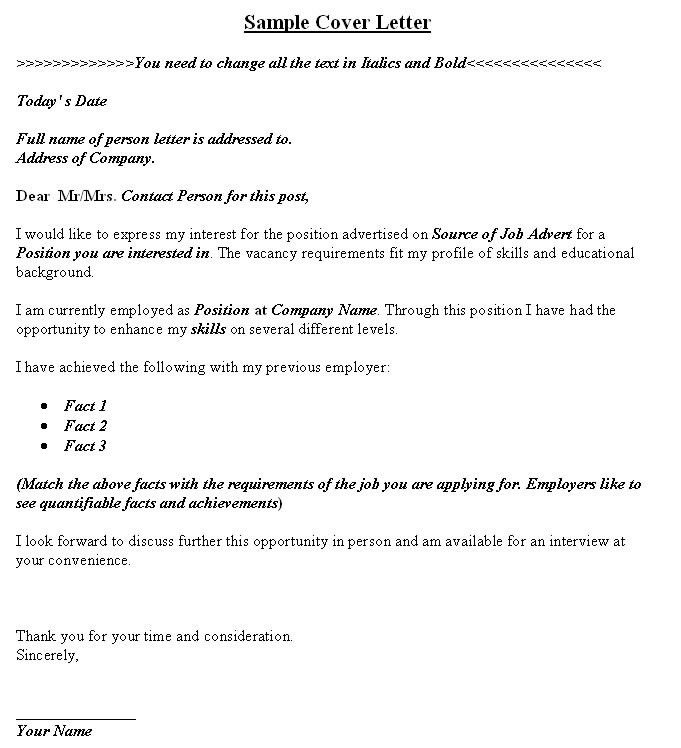 Awesome Collection of Sample Company Profile Cover Letter In ...