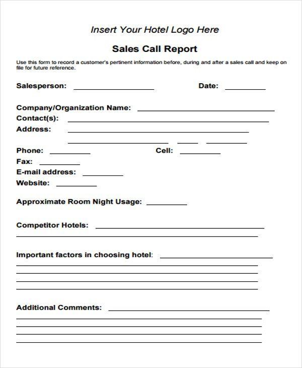 15+ Sales Report Form Templates