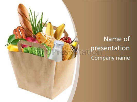 Supermarket Powerpoint Template - Metlic.info