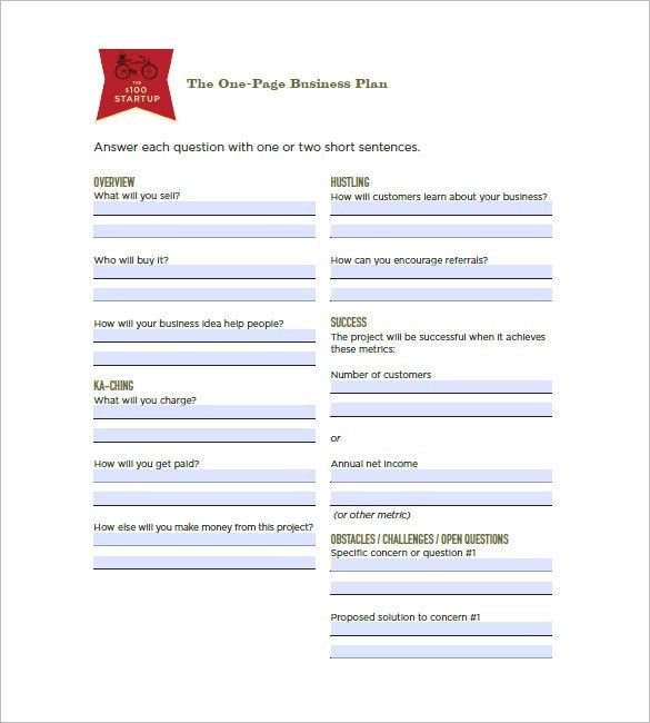 Business Plan Template for Mac - 8+ Free Word, Excel, PDF Format ...