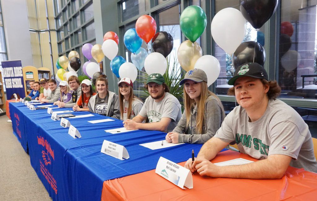 National Letter of Intent Signing Day is big day for student-athletes