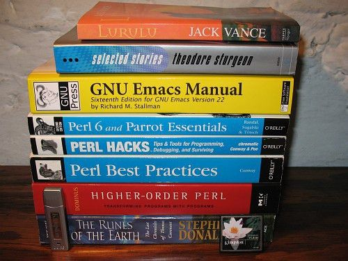 Perl programming help in exchange for books