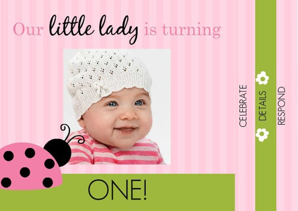 16+ Best First birthday invites – Printable, Sample Templates ...