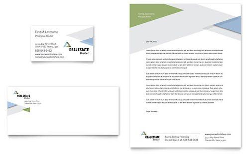 Real Estate - Business Card Templates - Word & Publisher