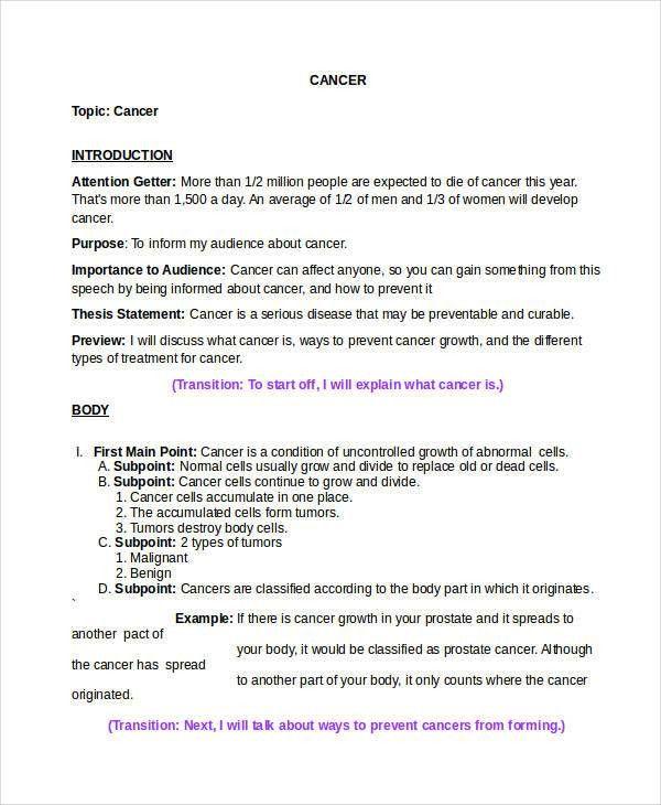 17+ Speech Examples in Doc