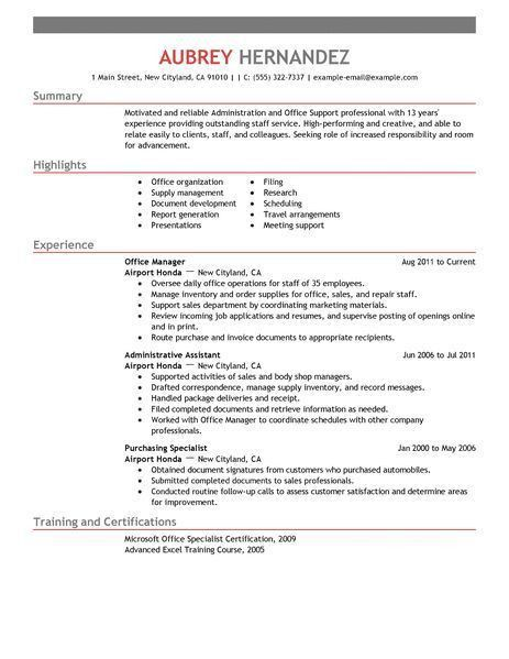 Graphic design intern resume objective