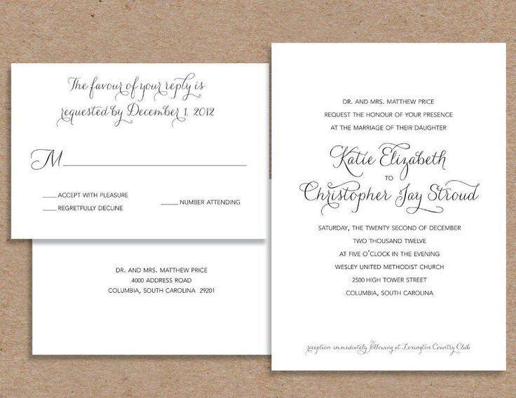 Top 25+ best Casual wedding invitation wording ideas on Pinterest ...