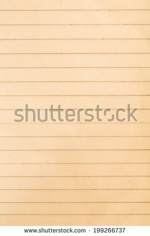 Vintage Yellow Lined Note Paper Stock Photo 293053019 - Shutterstock