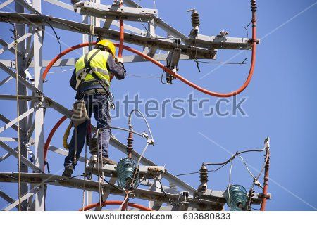 Electrician Worker Stock Images, Royalty-Free Images & Vectors ...