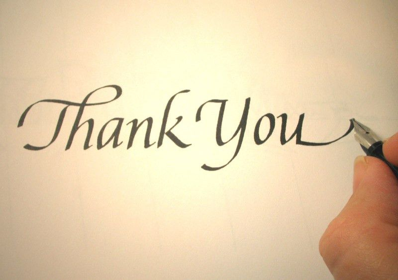 Thank You Letters; Business Thank You Letter Samples and More