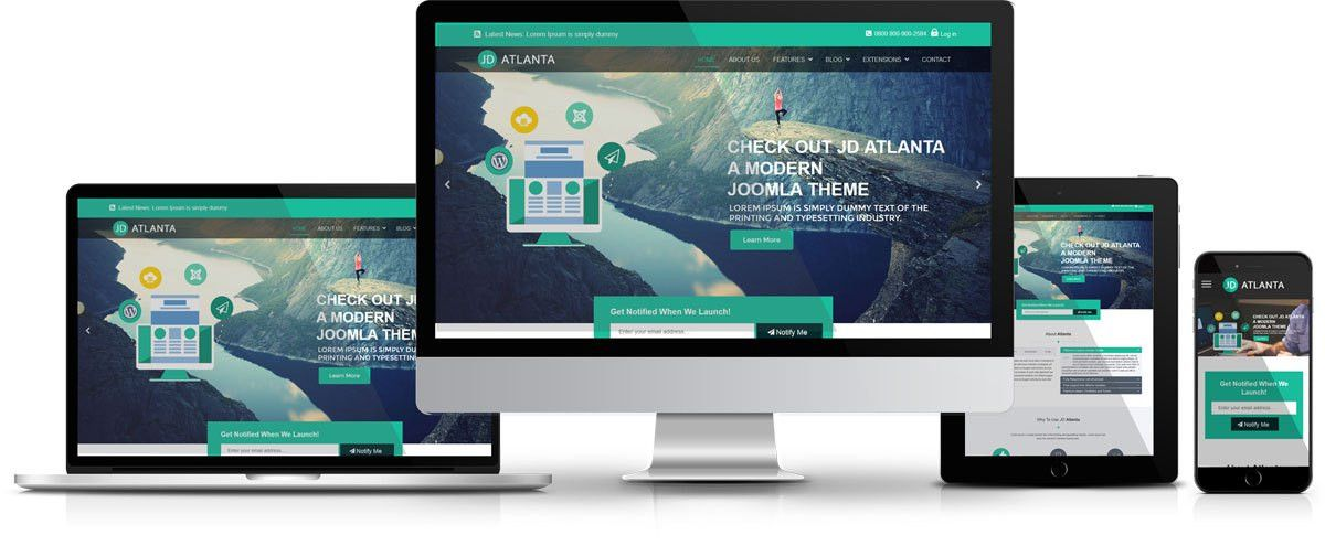 10 Best Free Joomla Templates to Beautify Your Website - JoomDev.com