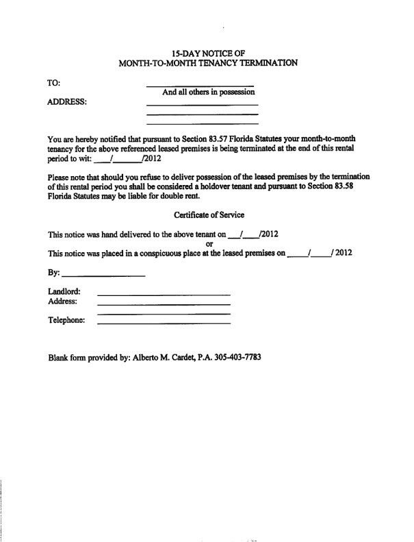 Eviction Notice Template Uk. information landlord sample. cover ...