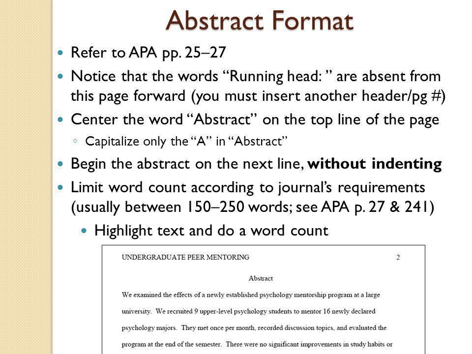 Technical Writing: Getting Started in APA Style - ppt video online ...