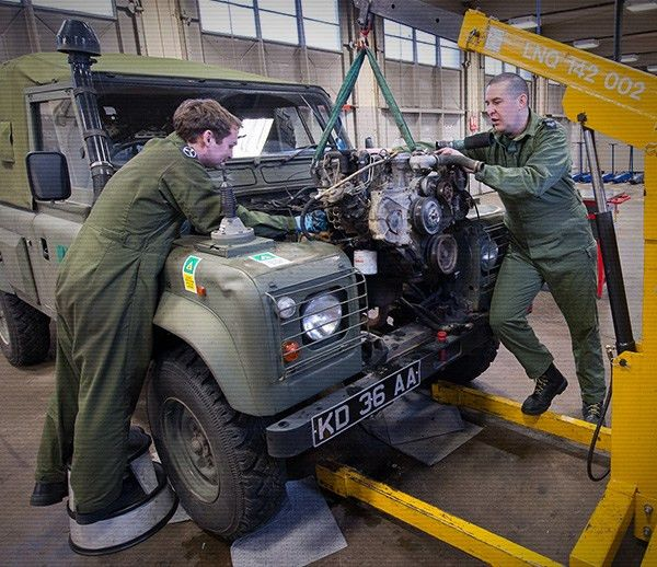 RAF Recruitment   Vehicle and Mechanical Equipment Technician