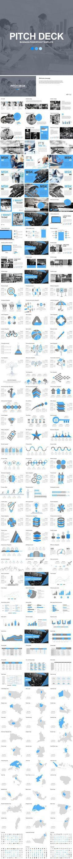 Simple Pitch Deck Keynote Template — Keynote KEY #best keynote ...