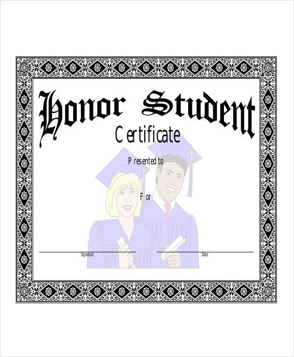 Student Award Templates - 9+ Free Word, Excel, PDF Documents ...