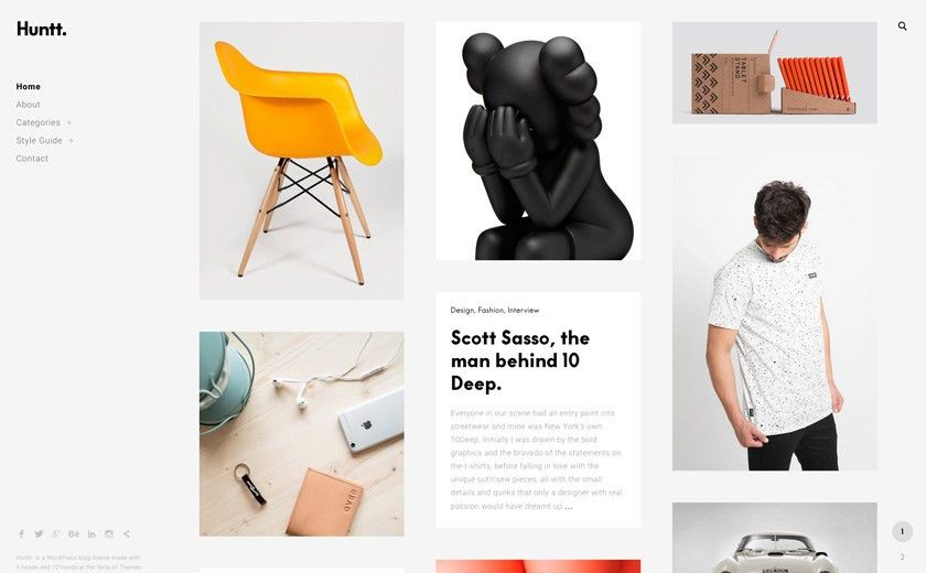 The Best Designs Collections - Top 40 Minimal Portfolio Websites ...