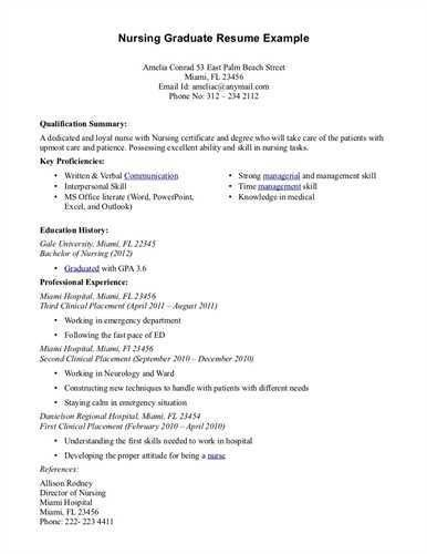 83+ [ Rn Resume Objective ] | Examples Of Nursing Resumes Free ...