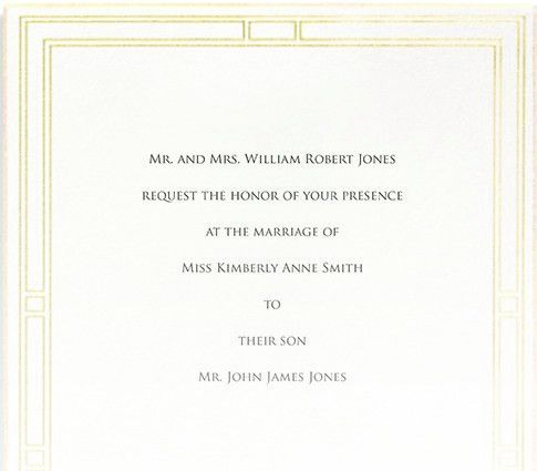 Wedded Words: Traditional Etiquette for Formal and Informal ...