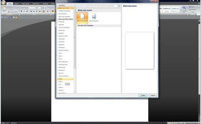 Microsoft Templates Labels. how to format an avery template built ...