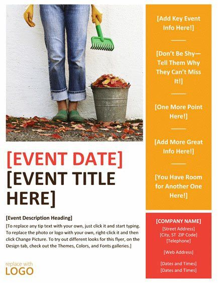 Free Event Flyer Templates | eknom-jo